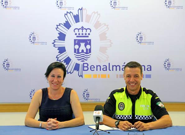 Concepción Tejada hace balance sobre las actuaciones en materia de seguridad en la Feria de San Juan