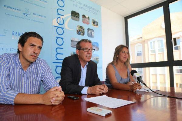 Francisco Salido ha informado sobre el gran éxito de participación en el acto benéfico de Teatreros de Benalmádena a favor de la Asociación Sabrin