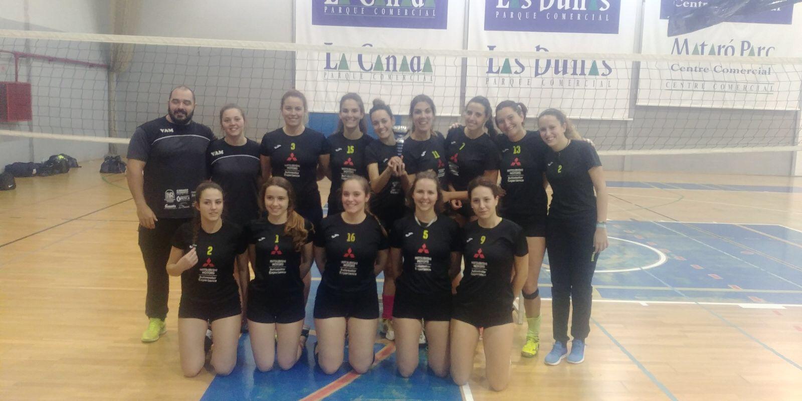 El equipo Voleibol Arroyo de la Miel logran coronarse como Subcampeonas de Voleibol de Andalucía