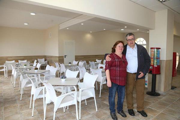 El Polideportivo de Benalmádena Pueblo renueva las instalaciones de su bar