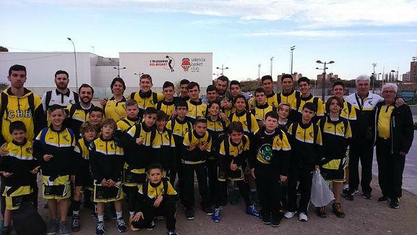 El Club Básquet Benalmádena participó en el IV Torneo de Semana Santa disputado en Valencia