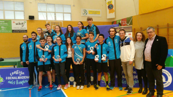 Finaliza el Máster Jóvenes de Bádminton 'Benalmádena Más Limpia'