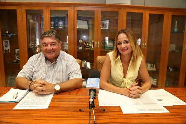 Los Concejales Beatriz Olmedo y Óscar Ramundo informan sobre el inicio del ...