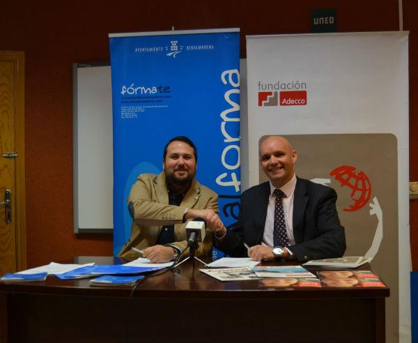 La Concejalía de Empleo firma un protocolo de colaboración con la Fundación Adecco