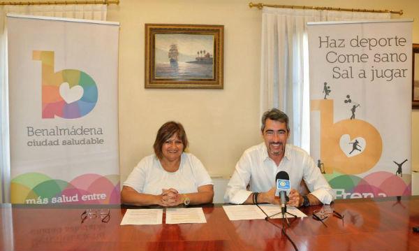 Benalmádena se adhiere a la estrategia de promoción de la Salud y la Prevención en el Sistema Nacional de Salud