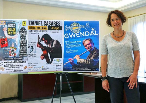 Benalmádena Suena prolonga su programación en septiembre con el flamenco de Daniel Casares, los sonidos celtas de Gwendal y un tributo al rock de los 70 y 80