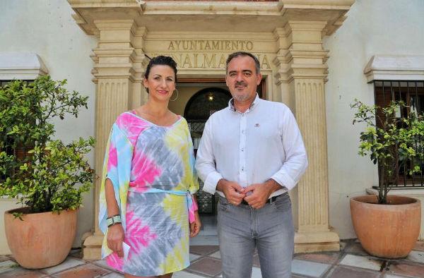 El Ayuntamiento colabora con la ACEB en la puesta en marcha de un Centro Comercial Virtual en Benalmádena