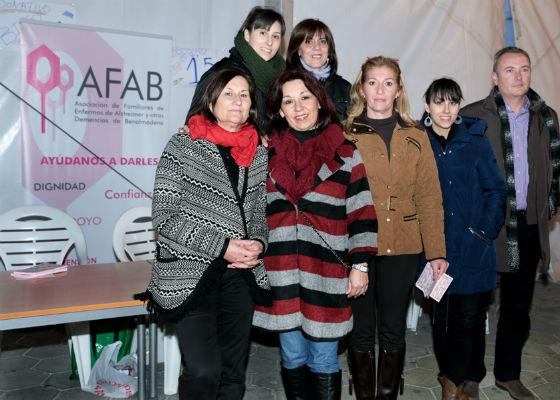 Cerca de 200 personas participan en el Bingo Solidario a favor de Afab