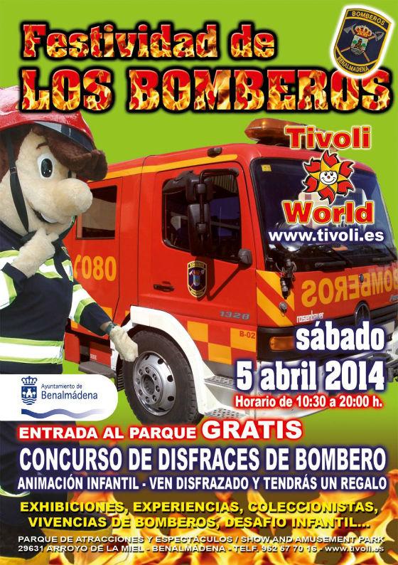 El parque de atracciones Tívoli World acogerá el próximo sábado la celebración con motivo de la festividad de los bomberos
