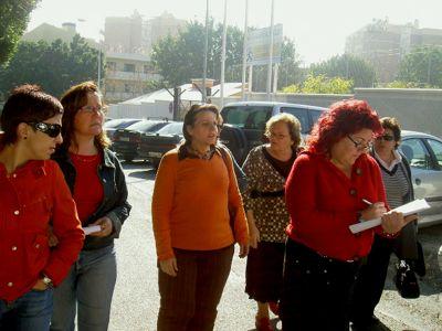 Visita a las zonas de Bonanza y García Lorca