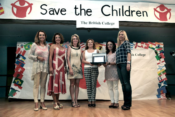 La regidora asiste al acto de nombramiento del British College como Centro Educativo Embajador de Save of The Children