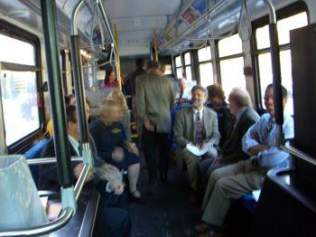 Modificación de los autobuses por obras