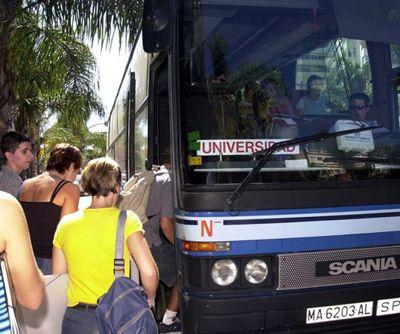 El Ayuntamiento ofrece transporte gratuito hasta la universidad