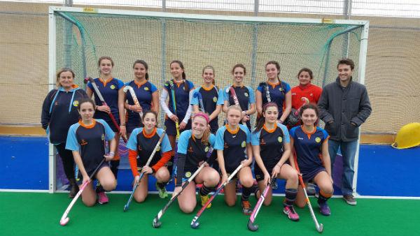 Buenos resultados en el estreno en Liga Andaluza del Club Hockey Benalmádena