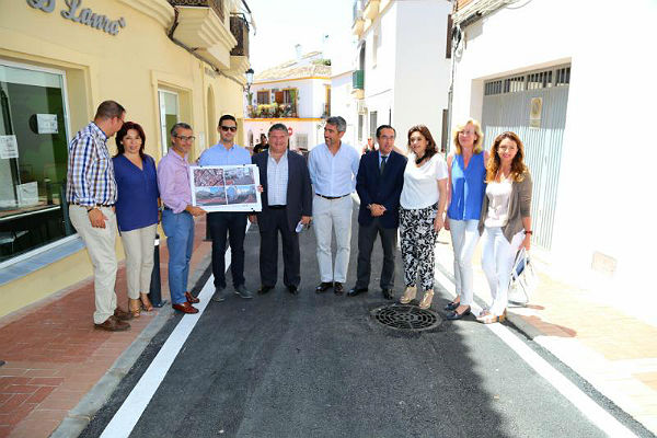 Finalizan los trabajos de remodelación en Calle Velarde