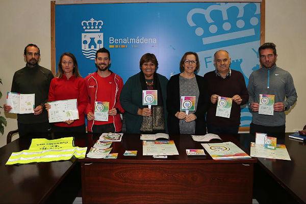 Benalmádena presenta el plan piloto 'Caminos Escolares Seguros' para los alumnos de los colegios La Paloma y Jacaranda