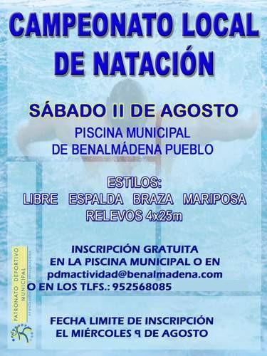 22º CAMPEONATO LOCAL DE NATACIÓN