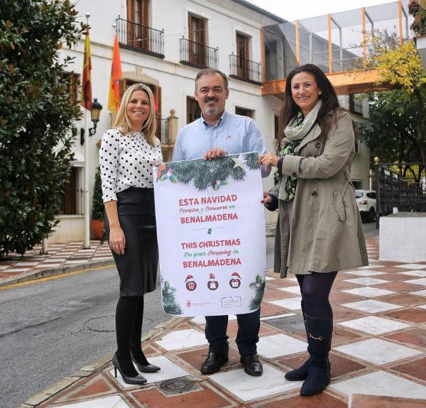 La Concejalía de Comercio colabora con la ACEB en una Campaña para Incentivar las Compras y el Consumo en Comercios Locales Durante la Navidad
