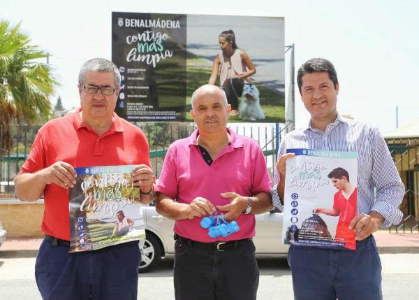 Benalmádena lanza una campaña para sensibilizar acerca de la importancia de la colaboración ciudadana para mantener la limpieza en los espacios públicos