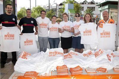 Arranca en Benalmádena la Campaña de control de Incendios Forestales de la Costa del Sol Occidental 2012.