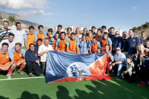 El Club de Hockey de Benalmádena se proclama campeón de la X Copa de España de Hockey Hierba en la categoría juvenil masculino