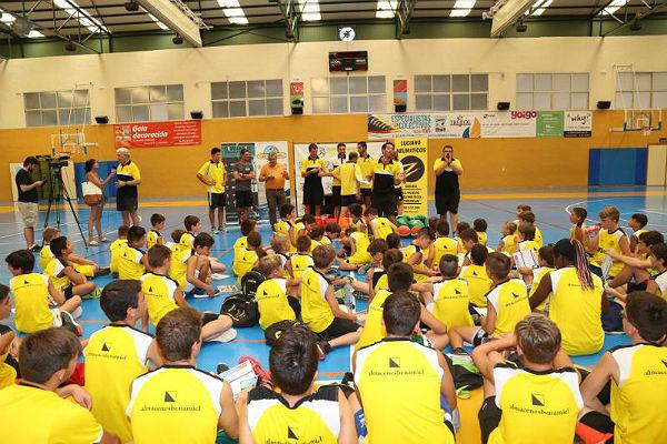 El Concejal Joaquín Villazón participó en la Clausura del XIII Campús de Tecnificación de Baloncesto