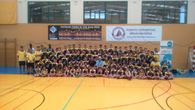 El Polideportivo de Arroyo de la Miel acogió el Campus de tecnificación Baloncesto