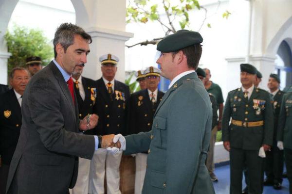 La Capitanía del Puerto Deportivo de Benalmádena acogió ayer la celebración del día del Pilar