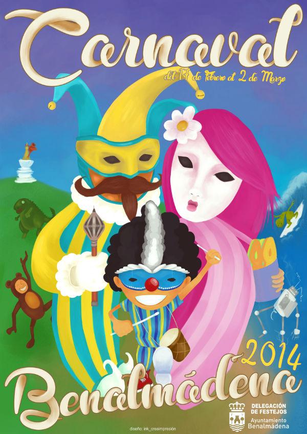 Benalmádena calienta motores para vivir con intensidad y diversión la gran fiesta del Carnaval