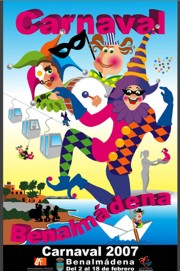 Elección del Dios y la Diosa del Carnaval 2007