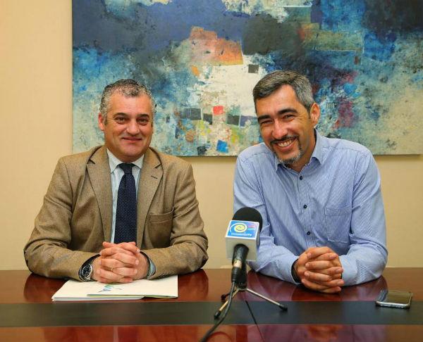 El Alcalde mantiene una reunión con el Consejero-Delegado de Turismo Andaluz ...