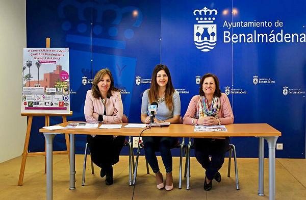 El próximo domingo se celebra la Tercera Edición de la Carrera Solidaria de la Mujer 'Ciudad de Benalmádena'