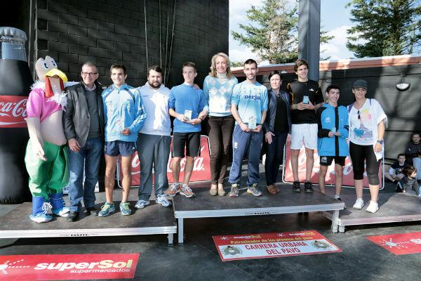 La Carrera del Pavo bate récord de participación con 2.400 corredores en línea de meta