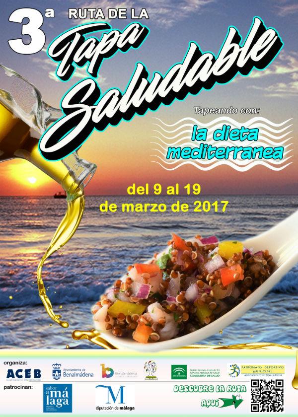Arranca la III Ruta de la Tapa Saludable de Benalmádena, que se celebrará hasta el 19 de marzo