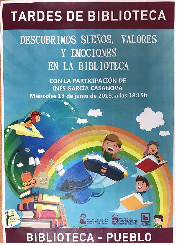 'Tardes de Biblioteca' cerrará este miércoles 13 el calendario de actividades con motivo del 50º Aniversario de 'La Niña de Benalmádena'