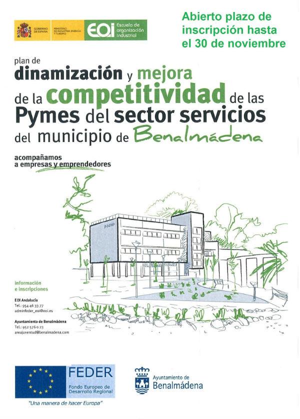 El 'Plan de dinamización y mejora de la competitividad de las pymes del sector servicio mantendrá abierto el plazo de inscripción hasta el 30 de noviembre