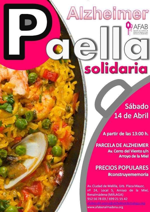 El 14 de abril, paella solidaria en la parcela del futuro Centro de Alzheimer de Benalmádena