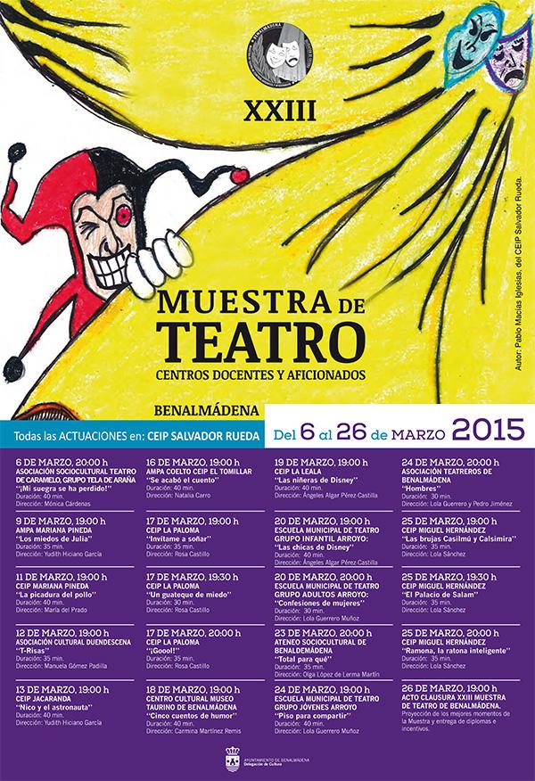 La Muestra de Teatro afronta su recta final con más de medio millar de asistentes y una decena de obras representadas.