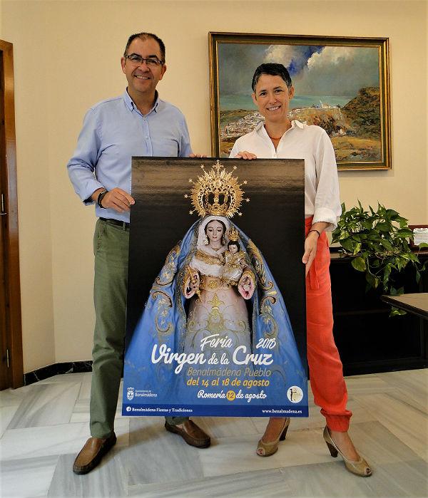 Presentado el Programa y el Cartel de la Feria de Benalmádena Pueblo Virgen de la Cruz 2018