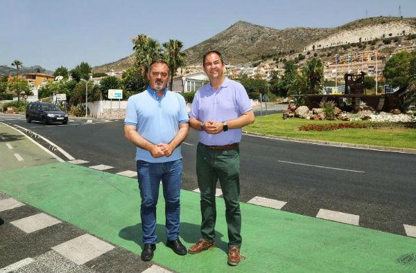 El Ayuntamiento instala nueva cartelería vertical para informar a los conductores de la presencia de ciclistas