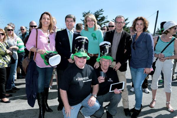 Benalmádena se viste de verde para celebrar la tradicional festividad de San Patricio