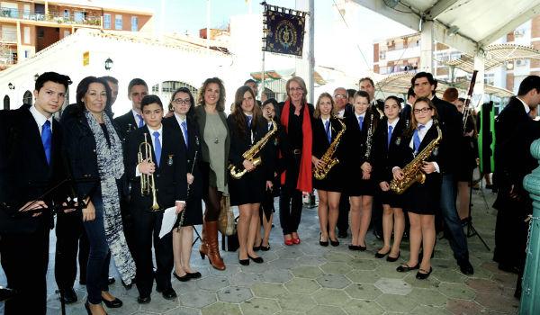 Benalmádena celebra con gran intensidad el I Certamen de Bandas Cofrades.