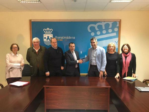 El Ayuntamiento de Benalmádena formaliza con la Junta de Andalucía la concesión demanial del edificio del Centro de Exposiciones.
