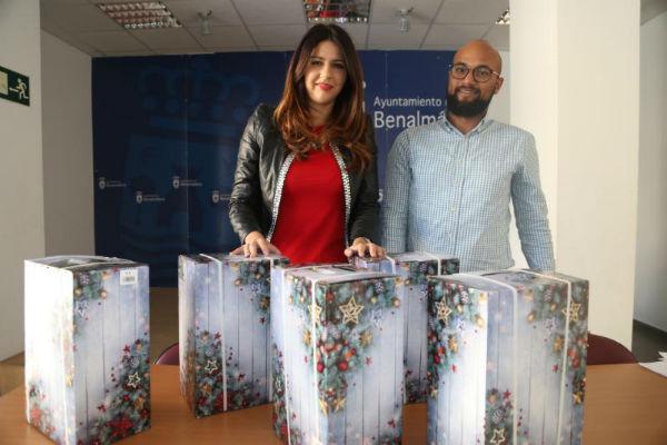 Bienestar Social repartió 100 cestas de navidad entre familias en riesgo de exclusión social