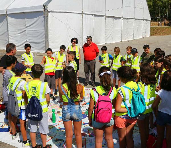 Escolares del municipio participan en el programa 'Aprende a Crecer con Seguridad' sobre prevención de riesgos