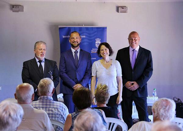 Charla Informativa sobre Impuestos, Subvenciones y Tramitaciones  Funerarias a Residentes Extranjeros en el Edificio Innova