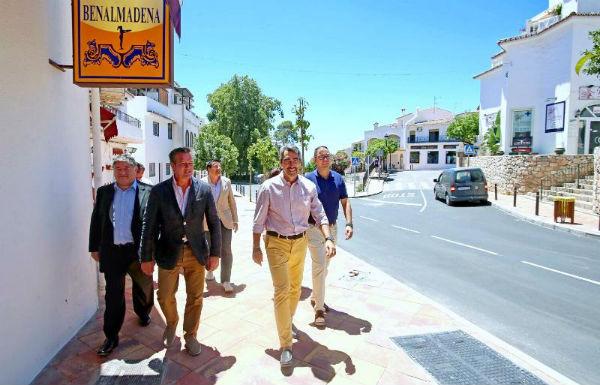 Inauguran la avenida del Chorrillo y la calle Alcalde Antonio García tras las obras de reformas y mejoras.