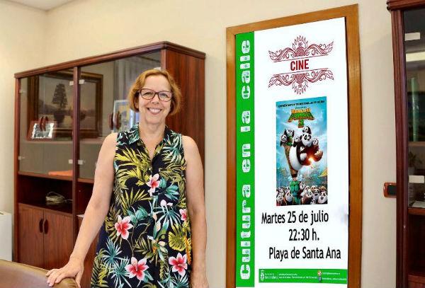 Cultura proyecta 'Kung Fu Panda 3' el 25 de julio en la Playa Santa Ana
