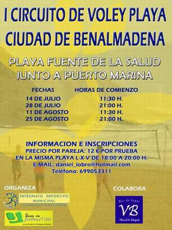 I CIRCUITO DE VOLEY PLAYA