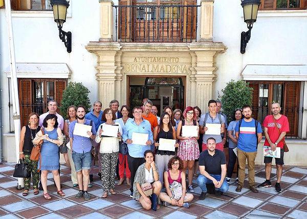 El Alcalde Víctor Navas preside la clausura de los Cursos de Verano de la UMA en Benalmádena